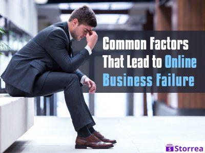 common factors for online business failure